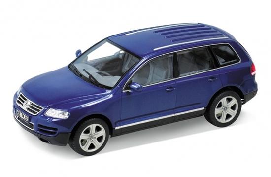 WELLY 1:24 Volkswagen Touareg  granatowy