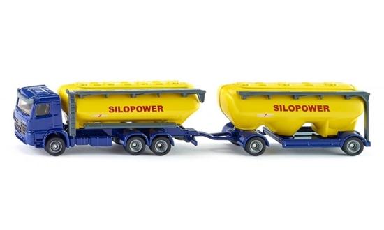 Siku Ciężarówka LKW z silosem do suchego transportu (1809)