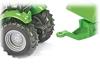 SIKU Traktor DEUTZ-FAHR z zestawem przyczep Joskin (naczepa, przyczepa i cysterna) (1848)