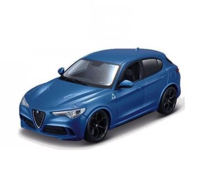Bburago 1:24 Alfa Romeo Stelvio  -niebieskie