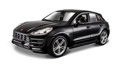 Bburago 1:24 Porsche Macan -czarny  /Plus