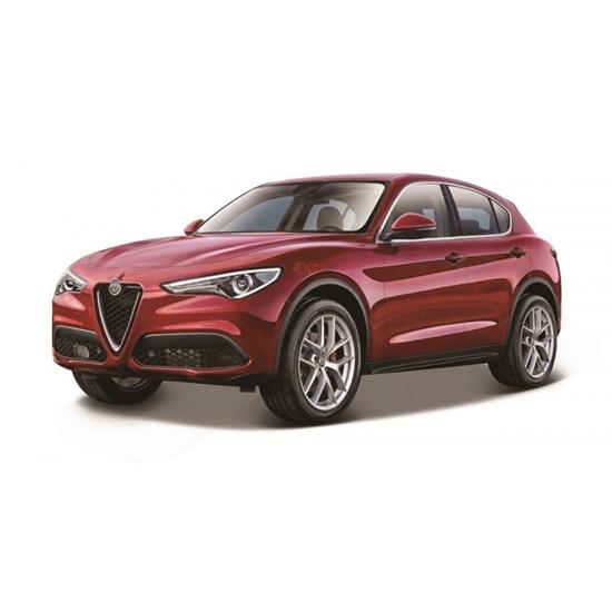 Bburago 1:24 Alfa Romeo Stelvio  czerwone