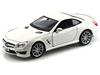Bburago 1:24 Mercedes-Benz SL 65 AWG -biały metalik