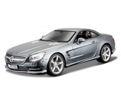 Bburago 1:24 Mercedes Benz SL 500 -grafitowy  /Plus