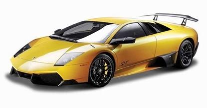 Bburago 1:24 Lamborghini Murcielago LP670-4 SV -żółte