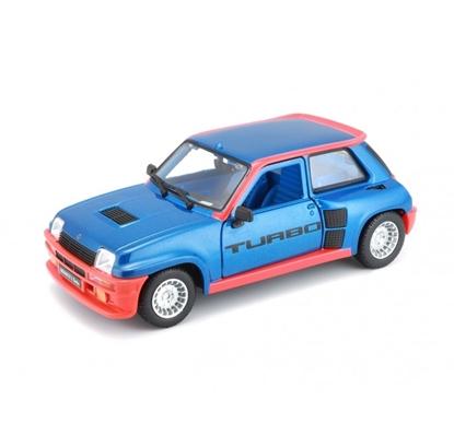 Bburago 1:24 Renault 5 Turbo  niebieskie