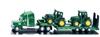 SIKU Ciężarówka z naczepą + 2 traktory  (1837)