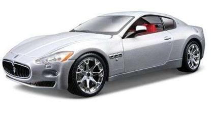 Bburago 1:24 Maserati Granturismo -srebrny /Bijoux colle