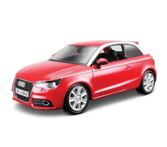 Bburago 1:24 Audi A1 -czerwone