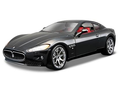 Bburago 1:24 Maserati Granturismo -czarny
