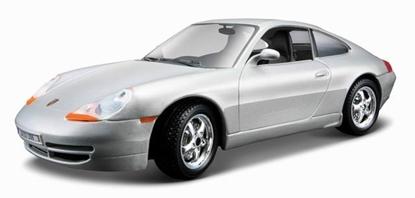 Bburago 1:24 Porsche 911 Carrera -srebrne