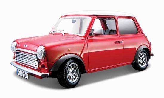 Bburago 1:24 Mini Cooper -czerwony