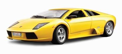Bburago 1:24 Lamborghini Murcielago -żółty metalik