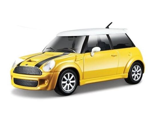 Bburago 1:24 Mini Cooper S  -żółty