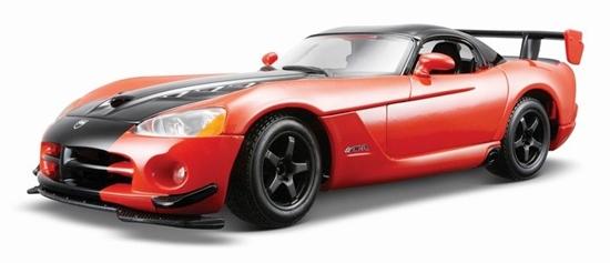 Bburago 1:24 Dodge Viper SRT 10 ACR -czarno-pomarańczowy