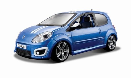 Bburago 1:24 Renault Twingo Gordini R.S. -niebieskie