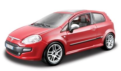 Bburago 1:24 Fiat Punto Evo  -czerwony
