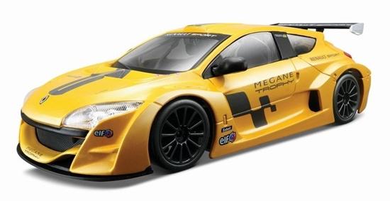 Bburago 1:24 Renault Megane Trophy -żółty metalik