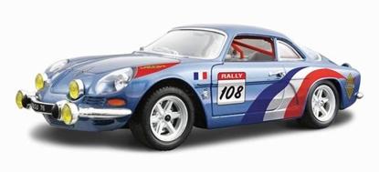 Bburago 1:24 Alpine Renault A110 1600S -granatowy