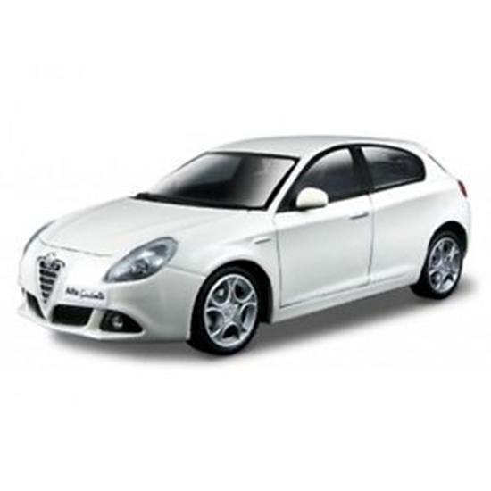 Bburago 1:24 Alfa Romeo -biała