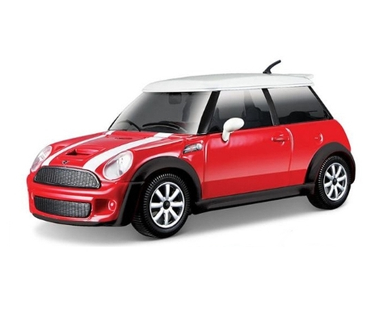 Bburago 1:24 Mini Cooper S  -czerwony