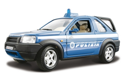 BBURAGO 1:24 FREELANDER POLIZIA  SECURITY FORCE
