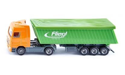 ! Siku 1796 Ciężarówka z naczepą i plandeką (S1796)