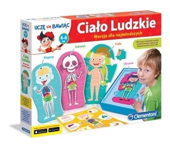 Clementoni Ciało ludzkie wersja dla najmłodszych (60931)