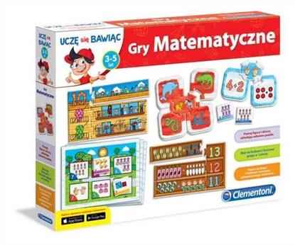 Clementoni Gry matematyczne (60593)