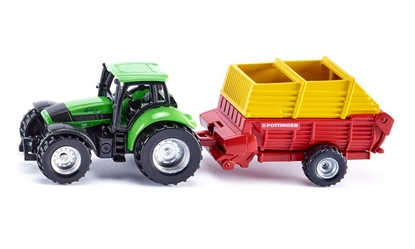 ! Traktor z przyczepą Pottinger (S1676)