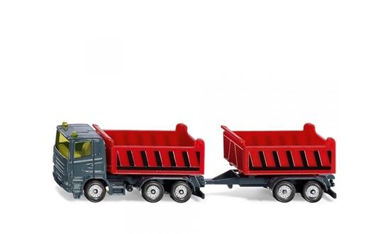 Siku 1685 Ciężarówka wywrotka z przyczepą (S1685)