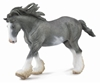 CollectA  88620 Clydesdale Black Sabino Roan - ogier  roz:XL (004-88620)