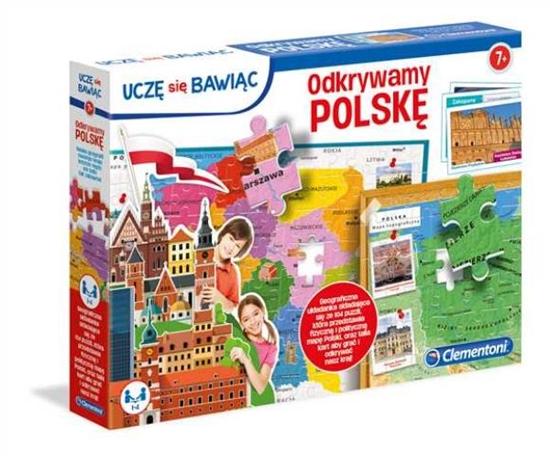 Clementoni Odkrywamy Polskę (50021 CLEMENTONI)