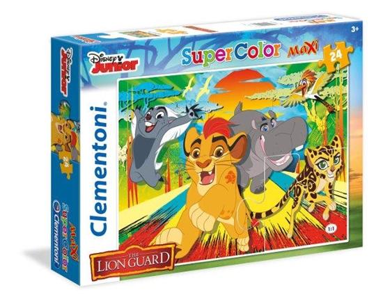 Clementoni puzzle 24 MAXI Lwia straż (24056 CLEMENTONI)