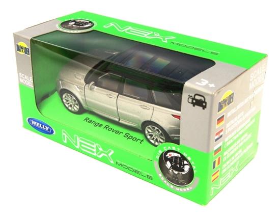 Welly 1:34 Land Rower Range Rover Sport -srebrny