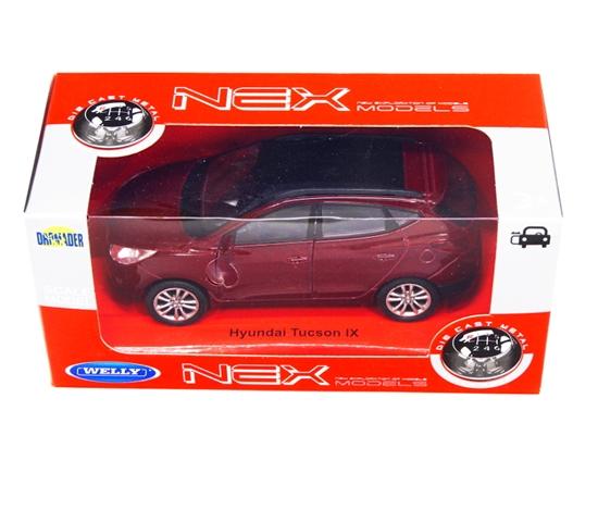 Welly 1:34 Hyundai Tucson IX - czerwony
