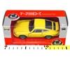 WELLY 1:34 Porsche Carrera RS żółty