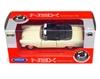 Welly 1:34 Chevrolet BEL AIR '57 cabrio -kremowy