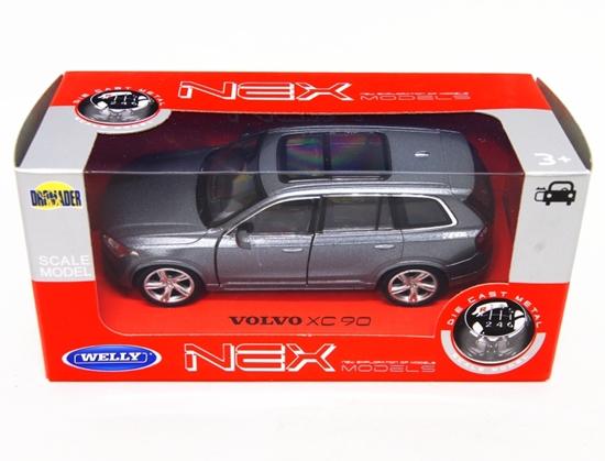 WELLY 1:34 Volvo XC 90 - grafitowy