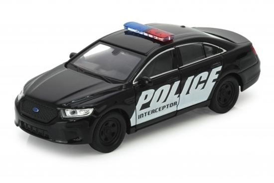 Welly 1:34 Ford Police Interceptor -czarny