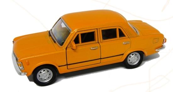 WELLY 1:39 FIAT 125P - pomarańczowy