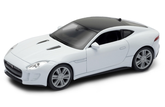 WELLY 1:34 Jaguar F-Type Coupe - biały