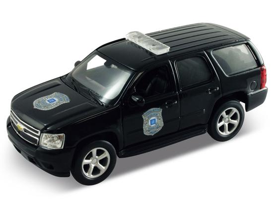 Welly 1:34 Chevrolet Tahoe '08 Police  - czarny