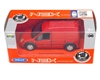 Welly 1:34 Ford Transit Connect -czerwony