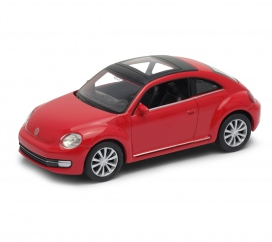 WELLY 1:34 Volkswagen THE BEETLE czerwony