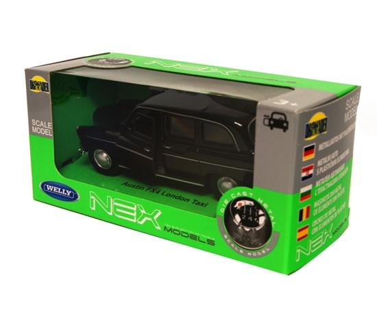 Welly 1:34 Austin FX4 London Taxi - czarny