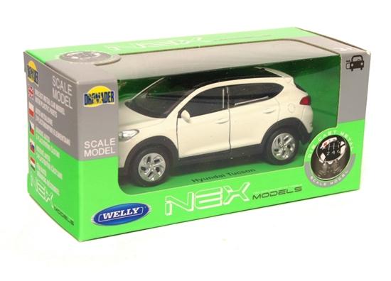 Welly 1:34 Hyundai Tucson - biały