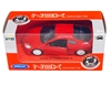 Welly 1:34 Honda Integra type R -czerwona