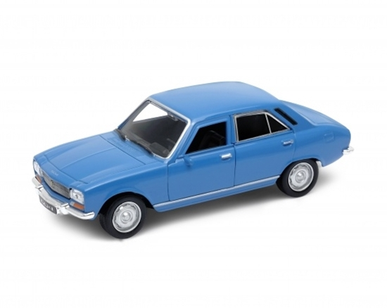 WELLY 1:34 Peugeot 504 1975 niebieski