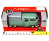 Welly 1:34 Volkswagen T1 Double Cabin Pick Up seledynowy
